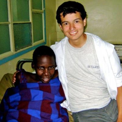 Mario M in Tanzania